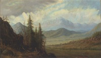 eastern mountain landscape by louisa jordan smith