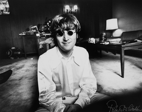 John Lennon Tokyo By Robert Whitaker
