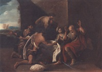 jacob shown joseph's coat by flaminio torre