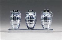 three hand grenades by clive barker