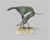 windhund (rennend) by franz fischer