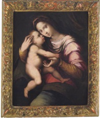 madonna con bambino by andrea piccinelli
