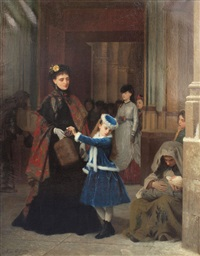 kind heart by gustave léonhard de jonghe