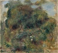 paysage de bretagne by pierre-auguste renoir