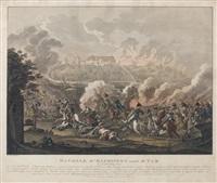 bataille d'elchingen auprès d'ulm, le 14 d'octobre 1805 by johann lorenz rugendas the younger
