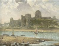 pembroke castle by william samuel henry (sir) llewellyn
