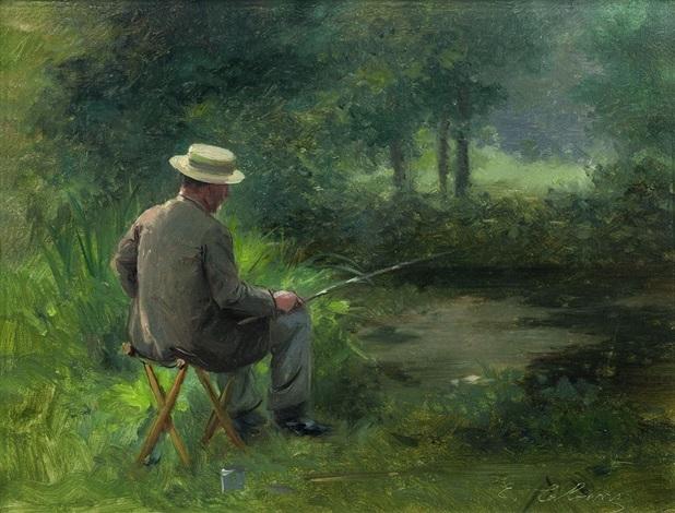 la pêche à la ligne by edouard cabane