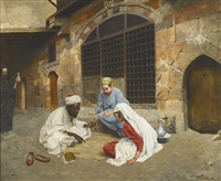 the fortune teller of cairo by franz xavier kosler