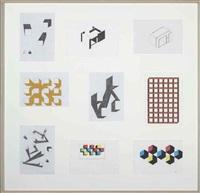 untitled (in 9 parts) by monika sosnowska
