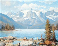 mt. ion and marvel lake b.c by duncan mackinnon crockford