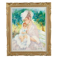 mother and child by marguerite aers