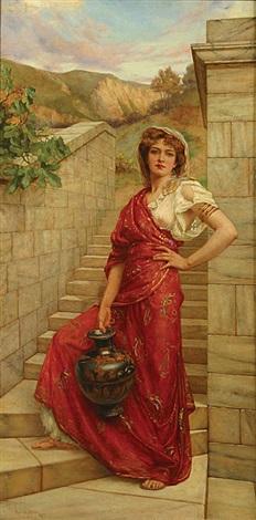 femme à la cruche by reginald arthur