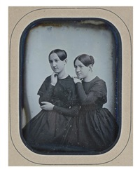 fannie and marie billault, paris by leon jean-baptiste sabatier