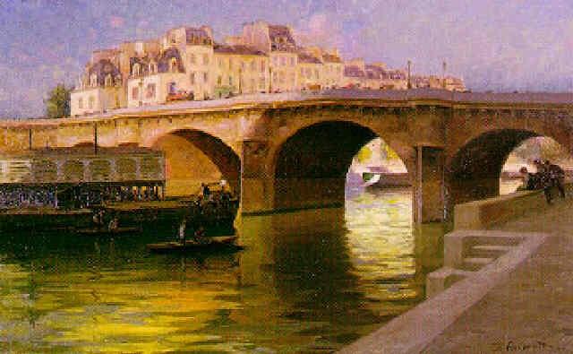 le pont neuf à paris by gabriel amoretti