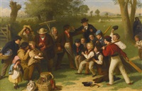 the fight (the cricket match) by john morgan