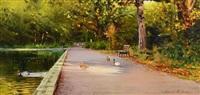 bushy park by edward freeney