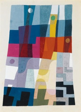 composition by sophie taeuber arp