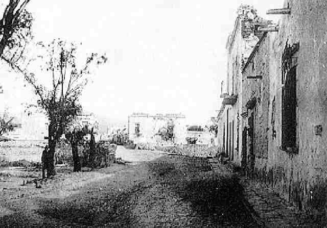 mexique la ville de san sebastian après les combats qui ont opposé les troupes de maximilien aux républicains by francois aubert