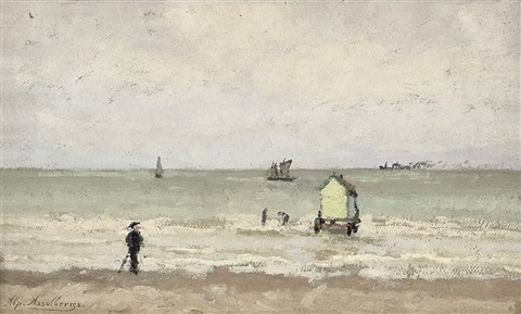 a day by the sea by alphonse asselbergs