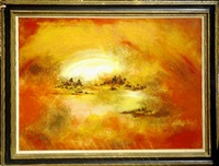sunset by hiroshi honda