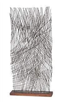 screen form (rods) by robert adams