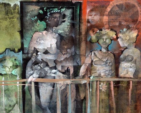 composición con figuras by carlos aguero