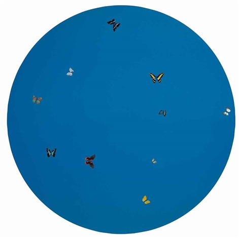 blue angel by damien hirst