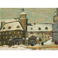 the seminary, quebec by kathleen moir morris