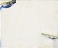 blanche tache bleu de loire by olivier debré
