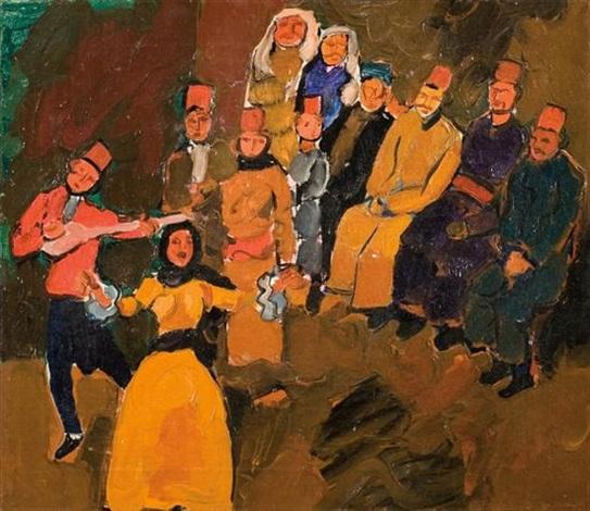 debka oriental dance by pinchas litvinovsky