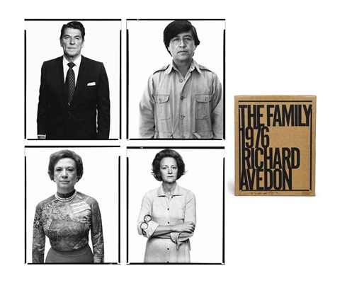 the family portfolioe of 69 by richard avedon
