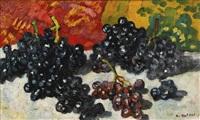 raisin noir aux draperies by louis valtat