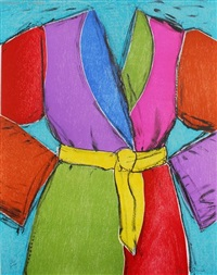 yellow belt by jim dine