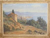 ajaccio depuis la chapelle du parc berthault by josé fabri-canti