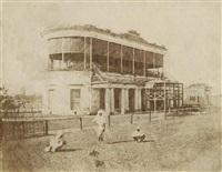 racecourse grandstand, calcutta by frederick fiebig