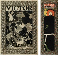 victor bicycles (2 works) by william bradley
