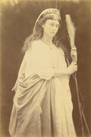 alice liddell as st agnes by julia margaret cameron