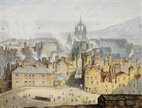 picturesque view of edinburgh (+ 32 others; 33 works) by samuel dukinfield swarbreck