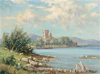 doe castle mulroy bay, co. donegal by rowland hill