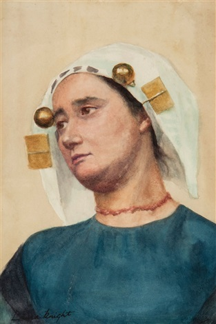 medieval woman by dame laura knight