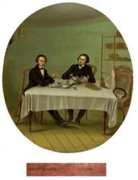 pushkin and gogol by nikolai alekseev