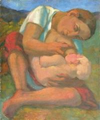 maternité by frantisek bilek