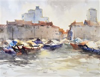 boats by lim cheng hoe