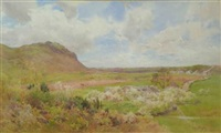 muncaster fell, ploughing (+ 2 others, irgr; 3 works) by cuthbert rigby