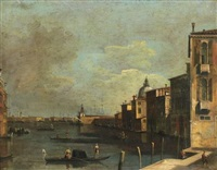 venise, vue du grand canal by francesco tironi