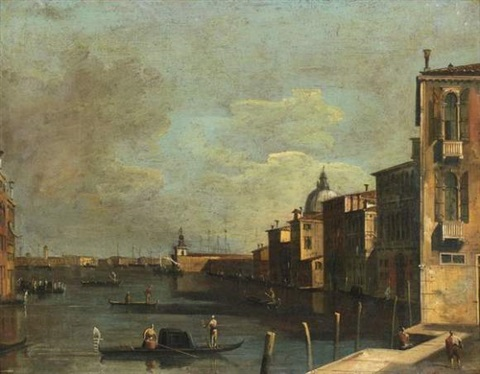venise vue du grand canal by francesco tironi