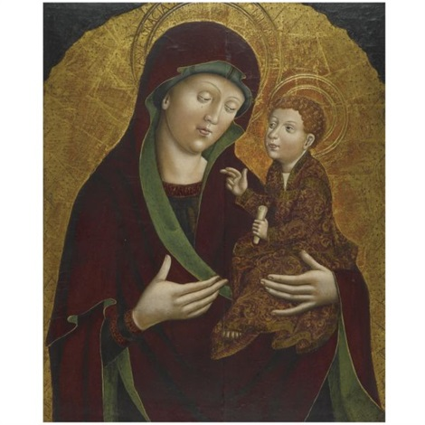 the virgin and child by austrian school tyrolean 15