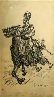 war in the saddle by nikolai semenovich samokish