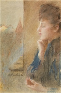 profil by teodor axentowicz