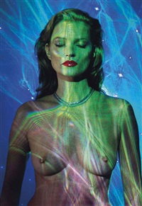 she's light (laser 3) by chris levine